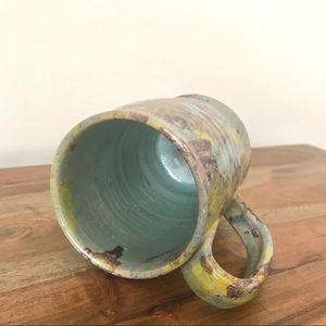 Vintage Kitchen - Painter's Scumble Hand Thrown Coffee Mug
